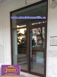 Especialistas en Carpintería Aluminio. .Puertas de comunidades .ALUMINIOS CASTILLA.