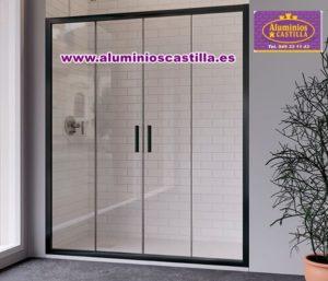 Rin es un modelo de mampara de ducha frontal, Aluminios Castilla 949331143