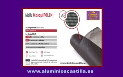 Malla Mosquipolen Aluminios Castilla