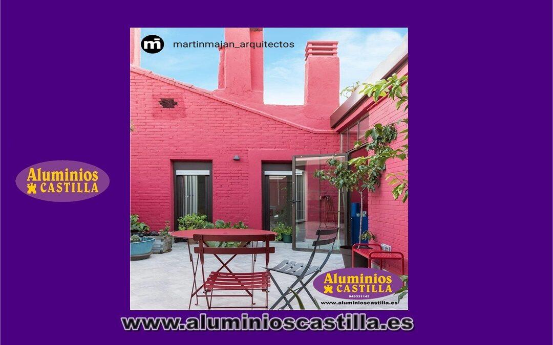Rehabilitación de vivienda. Proyecto realizado por el equipo Martín Maján Arquitectos. Aluminios Castilla